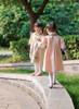 Cute Lolita Kids Pink Dress Children Ivory Spring Coat