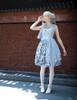 Model Show (Pale Blue + Light Grey Chiffon & Beaded Tulle Ver.) (petticoat: UN00026)