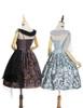 Last Chance: Vintage Lolita Printed Retro Midi Dress Ancient Greek Goddess No Sleeve Summer Dress