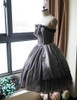 Side View under natural sunlight (petticoat: UN00026, birdcage petticoat: UN00019)