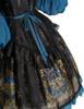 Detail View (Black + Peacock Blue Version)