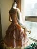Side View under natural sunlight (Vintage Pink + Light Ivory Ver.) (petticoat: UN00026)