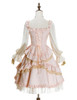 Back View (Vintage Pink + Light Ivory Ver.) (petticoat: UN00026)
