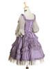 Back View (Vintage Lilac + Warm Grey Ver.) (petticoat: UN00026)