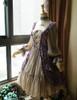 Front View under natural sunlight (Vintage Lilac + Warm Grey Ver.) (petticoat: UN00026)