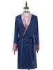 Front View of Gown (Dark Blue + Antique Pink Version)