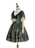Side View (Dark Green + Gold Ver.) (petticoat: UN00026, UN00027)