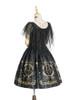 Back View (Black + Gold Ver.) (petticoat: UN00026, UN00027)