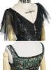 Detail View top: Black + Gold Version bottom: Dark Green + Gold Version