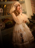 Model Show (White + Gold + Light Ivory Ver.) (petticoat: UN00026)