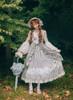 Model Show (Grey + White Ver.) (bonnet: P00641, petticoat: CT00040S)