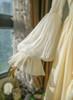 Vintage Lolita Casual Maxi Dress Wedding Bride White Grey Autumn Spring Outfit