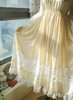 Last Chance: Vintage Lolita Casual Maxi Dress Wedding Bride White Grey Autumn Spring Outfit