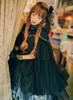 Model Show (Black Ver.) (headdress: P00608, P00589, dress underneath: DR00237, petticoat: UN00019, gloves: P00581)