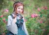 Model Show (Spirit Green + Black Ver.) (headdress: P00638, blouse: TP00174) *beaded headdress NOT for sale