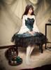 Model Show (Spirit Green + Black Ver.) (headdress: P00638, blouse: TP00142N) *beaded headdress NOT for sale