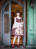 Model Show (Cherry Red Plaid Ver.) (headdress: P00639, blouse: TP00142N, petticoat: UN00019)