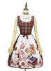 Front View (Cherry Red Plaid Ver.) (petticoat: UN00019)