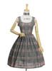 Front View w/o apron (Sage Green Plaid Ver.) (petticoat: UN00019)