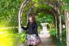 Model Show (Black Ver.) (headdress: P00636, blouse: TP00174, gloves: P00581, skirt: SP00192, petticoat: UN00026)
