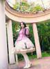 Model Show (Lilac Ver.) (headdress: P00636, dress: DR00243, petticoat: UN00026, gloves: P00572)
