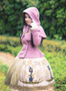 Model Show (Lilac Ver.) (coat: CT00303, dress: DR00243, petticoat: UN00026, gloves: P00572)