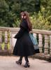 Model Show (Black Ver.) (headdress: P00636, coat: CT00301, dress: DR00239, petticoat: UN00026, gloves: P00581, spats: P00602)