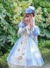 Model Show (Sky Blue Ver.) (coat: CT00306, dress: DR00245, blouse: TP00173, petticoat: UN00026)