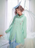 Model Show (Sky Blue Ver.) (sweater: D00028, blouse: TP00173, skirt: SP00197)