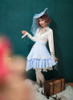 Model Show (Sky Blue Ver.) (blouse: TP00173, skirt: SP00197, petticoat: UN00026)