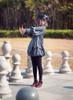 Model Show (hat: P00642, blouse: TP00172, shoes: D00012)