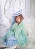 Model Show (Sky Blue Ver.) (hat: P00645, sweater: D00028, blouse: TP00173, petticoat: UN00026)