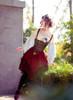 Model Show (Misty Blue + Ivory Ver.) (headdress: P00622, corset vest: Y00037, skirt: SP00197, petticoat: UN00027, neck ribbon from TP00172)