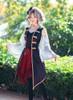 Model Show (Misty Blue + Ivory Ver.) (headdress: P00622, vest: CT00137, skirt: SP00197, neck ribbon from TP00172)