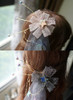 Detail View ABOVE: Baby Pink Version BELOW: Greyish Black Version