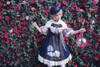 Model Show (Dark Blue Storm + White Underdress Ver.) (hat: P00652, brooch: P00651, petticoat: UN00019)