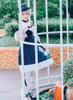 Model Show (Dark Blue Storm + White Underdress Ver.) (hat: P00652, petticoat: UN00019, socks: AD00903)