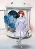 Creative Model Show (Pale Blue Rain + Grey Mixed Underdress Ver.) (headdress: P00651, petticoat: UN00019)