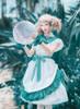Model Show (White + Emerald Green Ver.) (petticoat: UN00026)