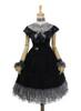 Front View (Black + Grey Ver.) (petticoat: UN00026)