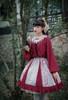 Model Show (Beige + Burgundy Ver.) (headdress: P00656, blouse: TP00179, petticoat: UN00026)