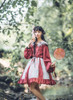 Model Show (Beige + Burgundy Ver.) (headdress: P00656, blouse: TP00179)