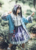 Model Show (Dark Blue + Pale Mint Ver.) (headdress: P00655, jacket: CT00312, blouse: TP00179)