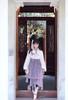 Model Show (Lilac Mixed + Black Ver.) (headdress: P00656, dress: DR00253, blouse underneath: TP00179)