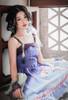Model Show (headdress: P00655, wrist pieces & long shawl set: P00654, petticoat: UN00019)