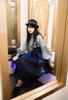 Model Show (Navy Blue Ver.) (hat: P00660, blouse: TP00181, petticoat: UN00028)