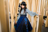 Model Show (Navy Blue Ver.) (hat: P00660, blouse: TP00181, petticoat: UN00028)