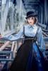 Model Show (Black Ver.) (hat: P00660, blouse: TP00181, petticoat: UN00028)