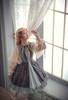Model Show (Pale Khaki Ver.) (dress: DR00257, petticoat: UN00026)