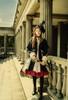 Model Show (Black + Map Lining Ver.) (hat: P00617, dress underneath: DR00257, petticoat: UN00026)